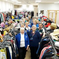 New version of Auxiliary Thrift Store re-opens