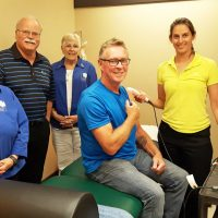 Auxiliary supports new physiotherapy service