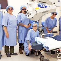 Tour of operating room at Sechelt Hospital